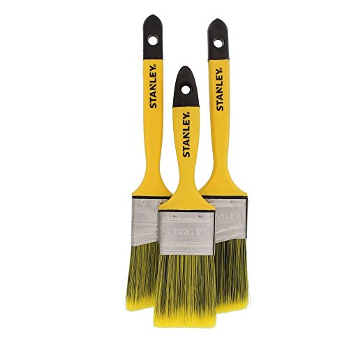 Stanley 3 Piece Polyester Soft Grip Brush Set