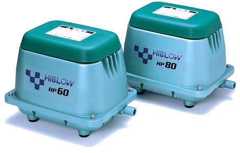 Original HiBlow HP-80 Luftpumpe