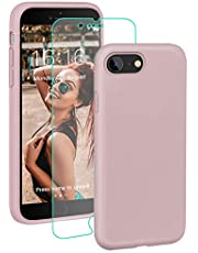 ProBien Case for iPhone 7/iPhone 8, Ultra Thin Slim full Protective Case with Free Tempered Screen Protector for iPhone 7 (2016)/iPhone 8 (2017)