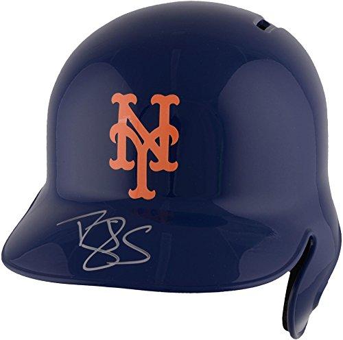Darryl Strawberry New York Mets Autographed Replica Batting Helmet - Fanatics Authentic Certified - Autographed MLB Helmets