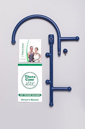 Thera Cane MAX: Trigger Point Massager (Blue)