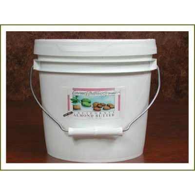 Almond Nut Butter, Smooth Roasted - 1 Gallon Tub