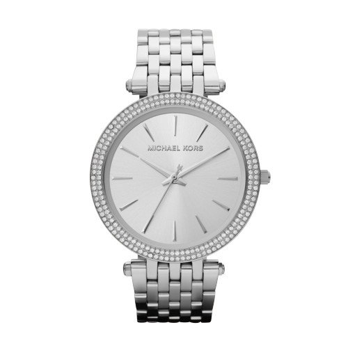 Michael Kors Women's Darci Silver-Tone Watch - Silver Michael