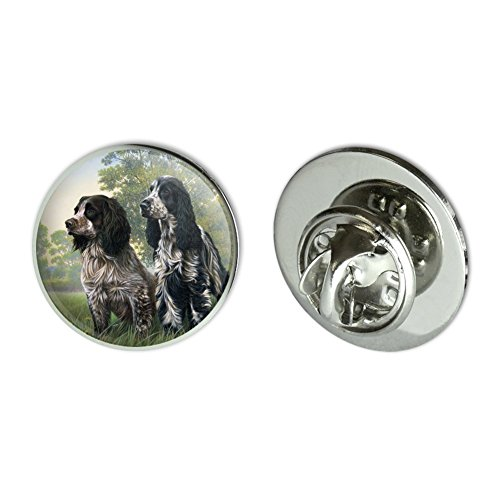 Graphics and More Pair of English Cocker Spaniel Dogs Metal 0.75