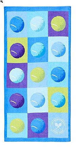 Wimbledon toalla de playa Pop fresa & Tennisball (Pack de 2): Amazon.es: Deportes y aire libre