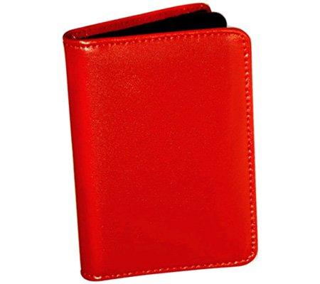 ジャックGeorgesミラノコレクションビジネスカードホルダー  ブルー B001AUN5EW