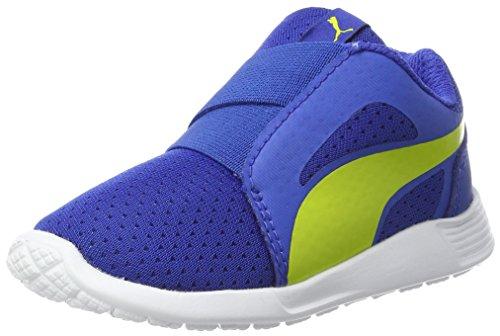 Puma St Trainer Evo Ac Inf, Zapatillas Unisex Niños Azul (Lapis Blue-nrgy Yellow)