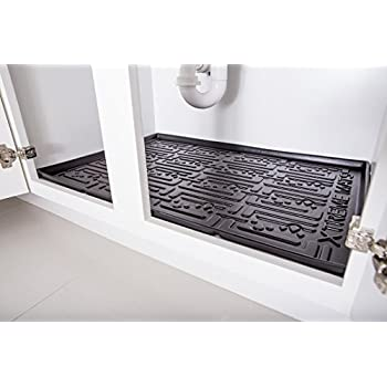 Amazon Com Xtreme Mats Under Sink Bathroom Cabinet Mat