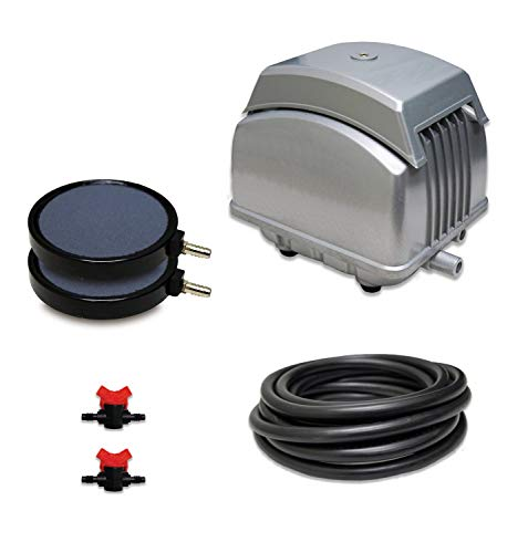 Patriot Bottom Aeration System LLS-45, For Ponds to 4,000 Gallons And Pond Depths To 15Feet