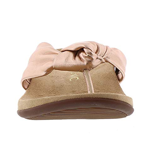 Gold Rest Rose Pippa Womens Vionic Sandals Leather xwSaY6fcqp
