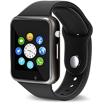 Amazon.com: Bluetooth Smart Watch Fitness Tracker, Touch ...