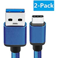 2-Pk. BeneStellar 5ft USB C to USB A Charger