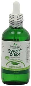 SweetLeaf Sweet Drops Liquid Stevia Sweetener, SteviaClear, 4 Ounce (Pack of 2)