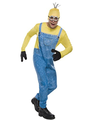 Rubie's Men's Minion Movie Minion Costume, Kevin, (Halloween Costumes Minions)