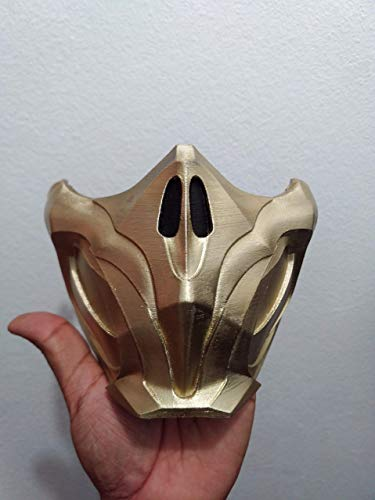 New Mortal Kombat 11 Scorpion Mask Replica ()