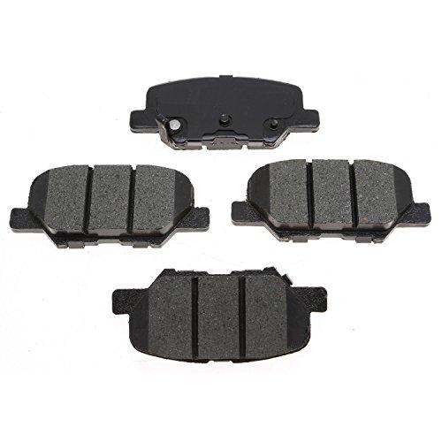 ACDelco 17D1679CH Professional Ceramic Front Disc Brake Pad Set (Mitsubishi Metal Front Brake Pad)