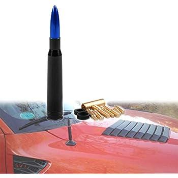 ZVEII Bullet Antenna for Ford F150 F250 F350 Super Duty Raptor /& Dodge RAM Truck Short Antenna
