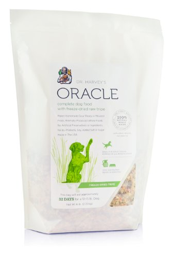 Dr. Harvey's Oracle Freeze Dried Raw Complete Diet for Dogs in Tripe Bag, 6-Pound