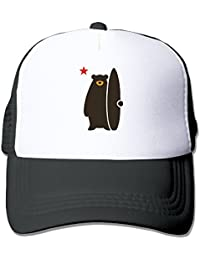 California Surf Bear Baseball Adjustable Cap