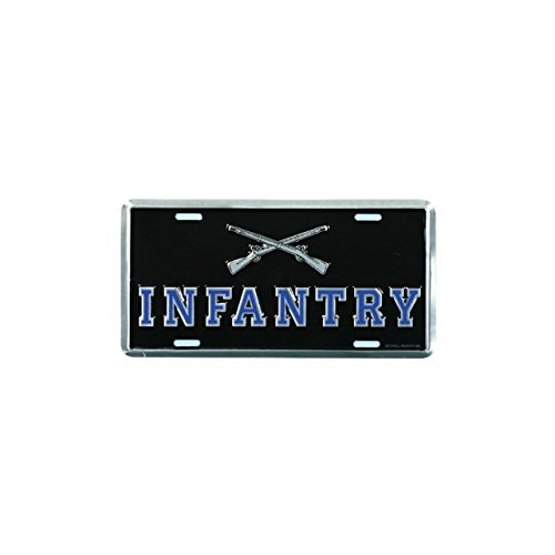 Honor Country Infantry License Plate