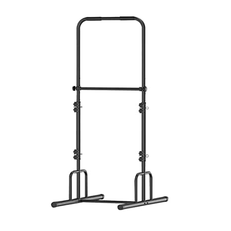 ZAIHW Altura Regulable Power Squat Rack Jaula Soporte Sistema ...
