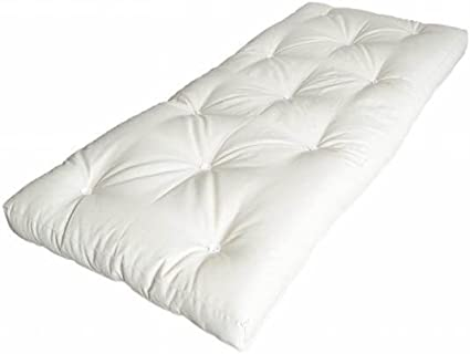 ABC MEUBLES - Colchón de futón + látex 80 x 190 cm - FUTON80: Amazon.es: Hogar