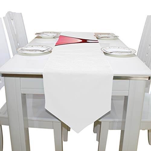 Gednix Table Linens Cocktail Drink with Cold Ice Non-Slip Table Runner Decorative Tablecloths for Kitchen Dining Room Carnival Party Office Place Mats Table Overlays 13