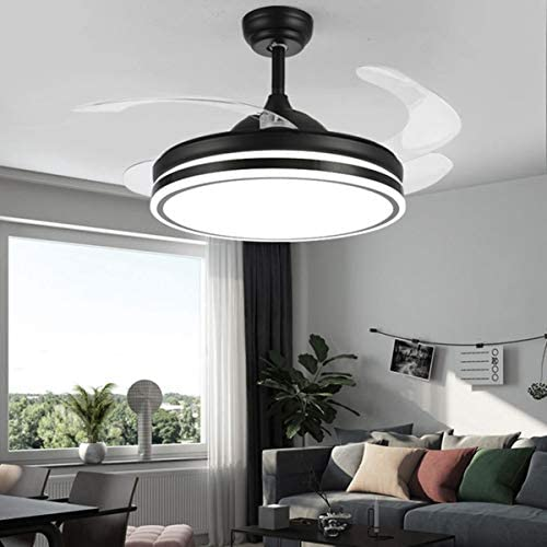 Retractable Fan Ceiling Light