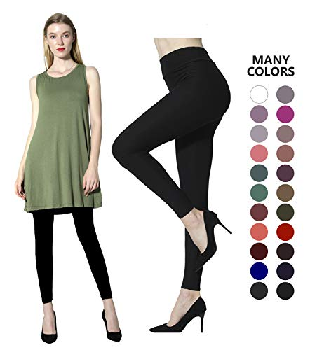Diravo High Waist Womens Leggings Black