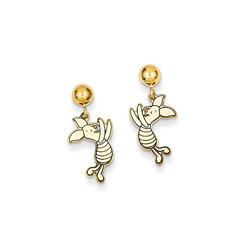 - Roy Rose Jewelry Roy Rose Jewelry 14k Disney Piglet Dangle Post Earrings