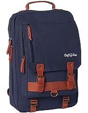 Chef Knife Retro Backpack   Premium Canvas Bag   25+ Slots for Knives & Kitchen Utensils   2 Pockets for Tablet & Menu
