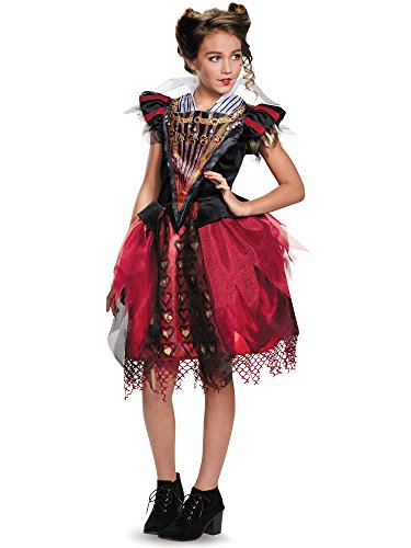 Disguise Red Queen Tween Alice Through The Looking Glass Movie Disney Costume, X-Large/14-16 -