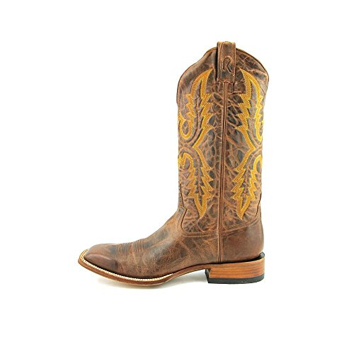 Stang Patrick Boot Stakere Menns Cognac Perro Loco Geit Cowboy Boots Cognac