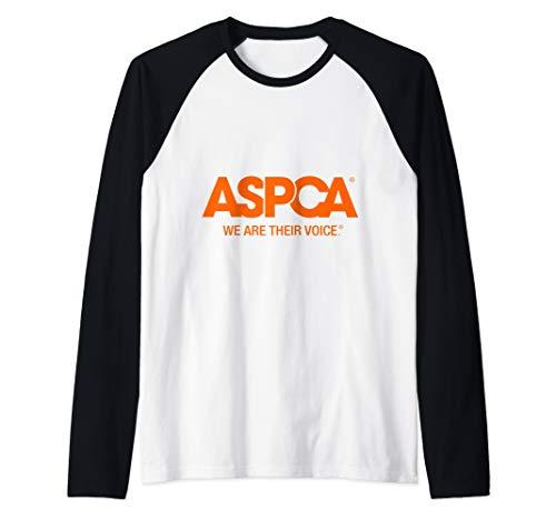 - ASPCA We Are Their Voice Logo Raglan Baseball Tee