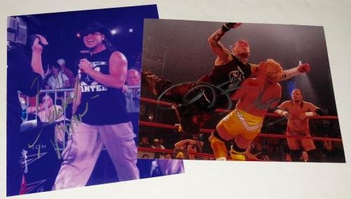 Jeff Hardy Wwe Tna Charismatic Enigma Signed Autograph 8x10 Photo #7 Autographed Wrestling Photos