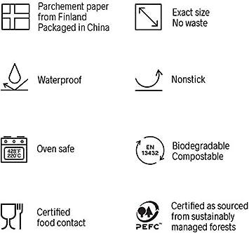 140 Pre-Cut Sheets Kana 8 1//4 x 11 1//4 Rectangle Parchment Paper