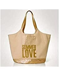 Victorias Secret Summer Love Limited-Edition Canvas Tote Bag, NEW!