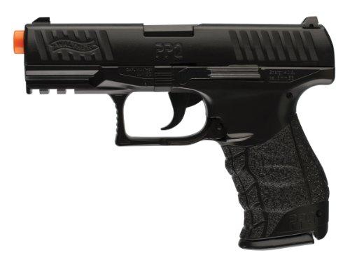 walther ppq spring airsoft pistol, black(Airsoft Gun)