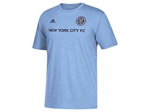 David Villa New York City FC #7 MLS Youth Player T-Shirt Blue (Youth XLarge 18/20)