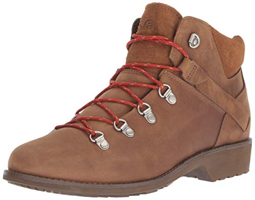 09 Boots - Teva Women's W DE LA Vina DOS Alpine Low Fashion Boot, Pecan, 09 M US