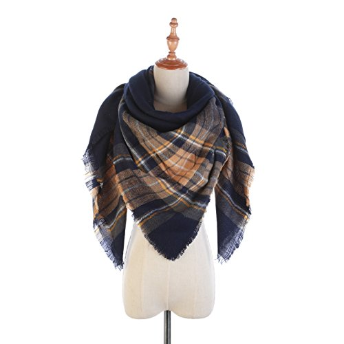 Women's Cozy Tartan Scarf Wrap Shawl Neck Stole Warm for sale  Delivered anywhere in USA