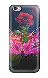 LastMemory Protector Specially Made Case For HTC One M7 Cover Roses Flower