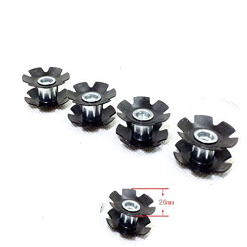 Joan 4Pcs MTB Road Bike Headset Star Nut for Fork 1-1/8