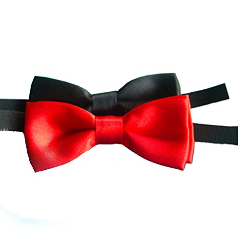 Bow Ties for the No-Crow Collar (Black)