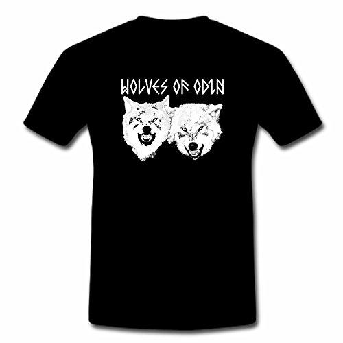 "T-Shirt ""Wolfes of Odin"" 3XL-5XL"
