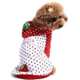 Alfie Couture Designer Pet Apparel – Rae Strawberry Costume – Color: Red, Size: S, My Pet Supplies