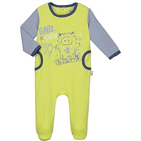 b2beef12da38b Pyjama bébé molleton Babysnow - Taille - 6 mois (68 cm)  Amazon.fr ...