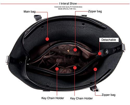 de bandoulière cuir grande Sacs Pu en Red capacité en à cuir main Sacs Sacs à Femmes 6pIq7