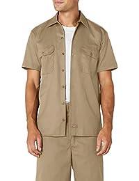 Men's Short Sleeve Work Shirt Stain & Wrinkle Resistant