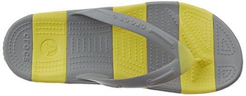 misto Chartreuse Crocs Line chiaro adulto Flip Beach perizoma Grigio 8IWIrw4qg